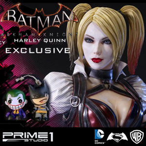 Harley Quinn VERSION EXCLUSIVE - Arkham Knight - PRIME 1 STUDIO