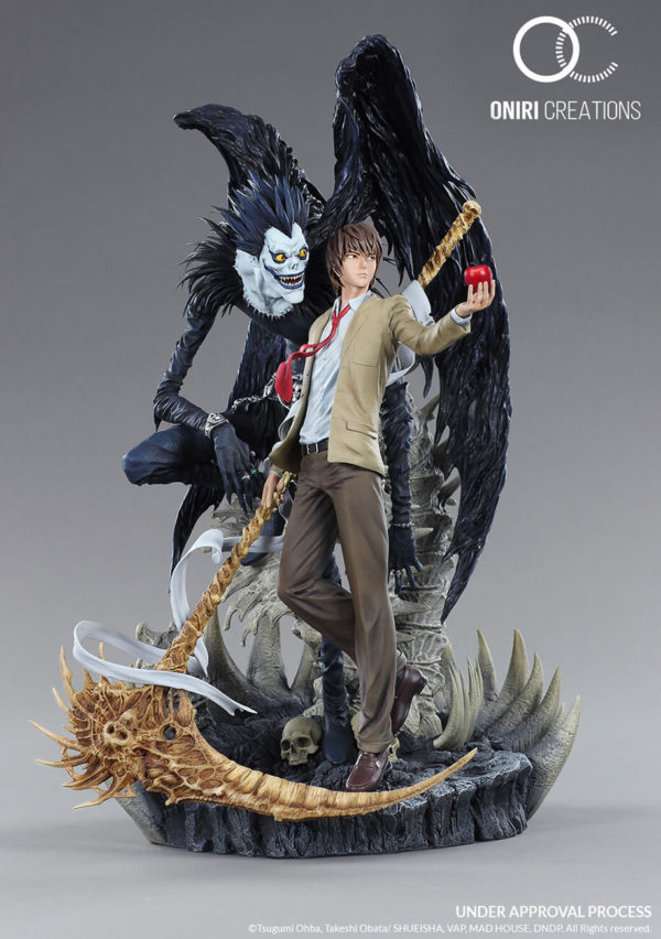 LIGHT AND RYUK Diorama 1/6 - Death Note - Oniri Creation