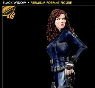 BLACK WIDOW Premium Format EXCLUSIVE - Iron Man 2 - Sideshow Collectibles