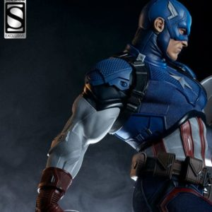 CAPTAIN AMERICA Premium Format Version EXCLUSIVE - Marvel - Sideshow Collectibles