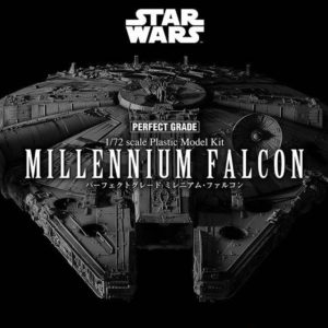 Star Wars maquette Perfect Grade 1/72 Millennium Falcon - BANDAI