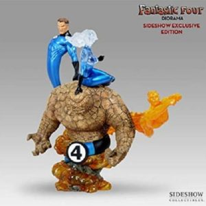 FANTASTIC FOUR EXCLUSIVE VERSION DIORAMA - SIDESHOW COLLECTIBLES
