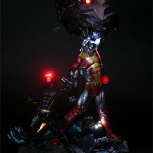 X-MEN VS SENTINEL EXCLUSIVE VERSION DIORAMA - SIDESHOW COLLECTIBLES