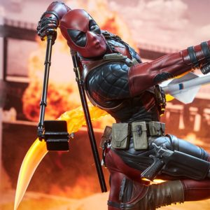 Deadpool Heat-Seeker EXCLUSIVE VERSION Premium Format - SIDESHOW COLLECTIBLES
