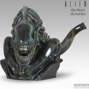 ALIEN WARRIOR LIFE SIZE BUST 1/1- SIDESHOW COLLECTIBLES