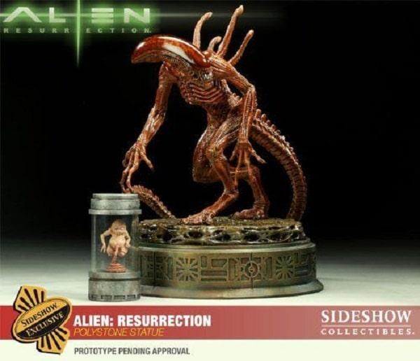 ALIEN RESURRECTION Polystone Statue Exclusive Version- Alien 4 - Sideshow Collectibles