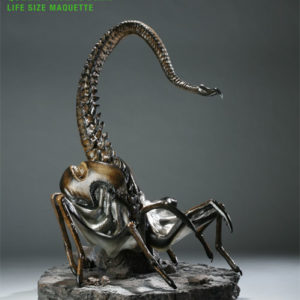 QUEEN FACEHUGGER LIFE SIZE - ALIEN 3 - SIDESHOW COLLECTIBLES