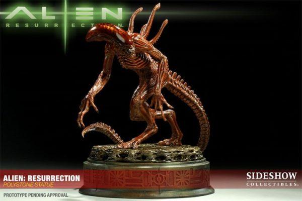 ALIEN RESURRECTION Polystone Statue - Alien 4 - Sideshow Collectibles