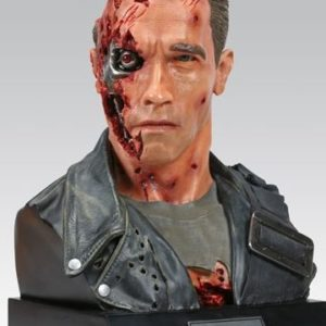 T800 LIFE SIZE BUST - TERMINATOR 2 - SIDESHOW COLLECTIBLES