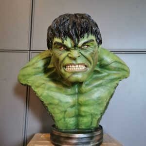 HULK EDWARD NORTON BUST 1/2 SCALE - THE INCREDIBLE HULK - ART DEPARTMENT