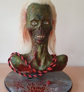 LADY 1:1 SCALE BUST - THE RETURN OF THE LIVING DEAD - FAN MADE PROP REPLICA
