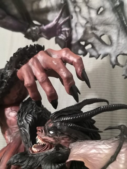 DEVILMAN VS. AMON ELITE EXCLUSIVE - FIGURAMA COLLECTORS