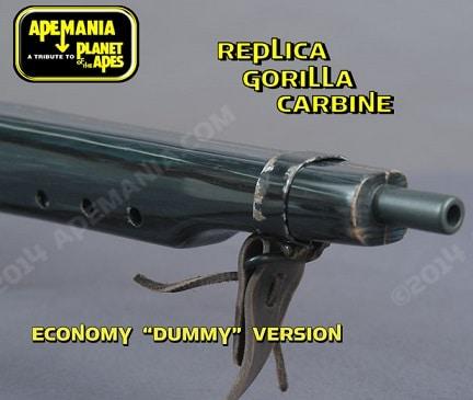 """Superbe reproduction d'un des fusils visibles dans le film de 1968 """"La Planète des Singes""""."""
