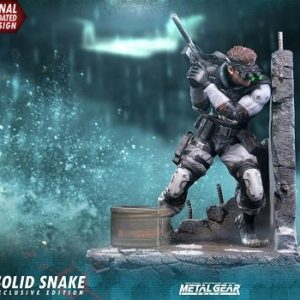 SOLID SNAKE EXCLUSIVE - METAL GEAR SOLID - FIRST FOR FIGURES F4F
