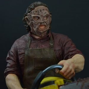 LEATHERFACE 1/4 SCALE - Texas Chainsaw 3D - Hollywood Collectibles Group HCG