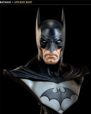 Batman Life Size Bust - DC Comics - SIDESHOW COLLECTIBLES