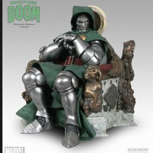 DR DOOM ON THRONE VERSION REGULAR Premium Format - SIDESHOW COLLECTIBLES