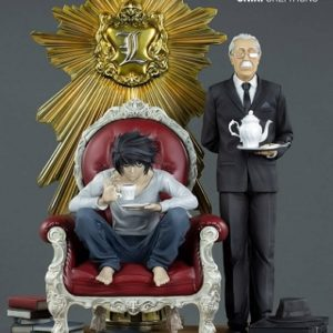 L & WATARI DIORAMA - DEATH NOTE – ONIRI CREATIONS
