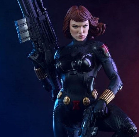 BLACK WIDOW PREMIUM FORMAT – SIDESHOW COLLECTIBLES