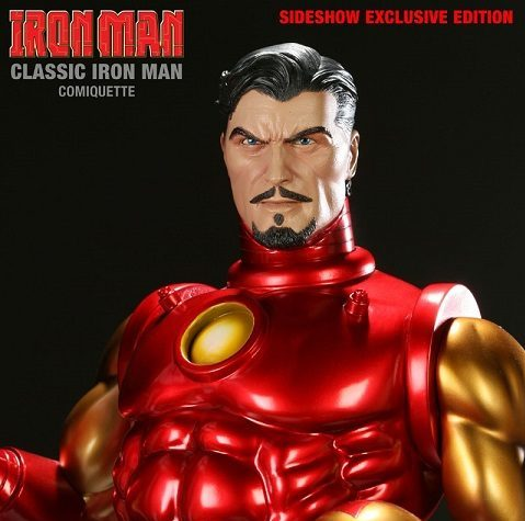IRON MAN CLASSIC Comiquette Version Exclusive - SIDESHOW COLLECTIBLES