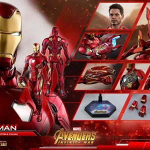 IRON MAN MARK L 50 : INFINITY WAR MMS473 D23 - HOT TOYS