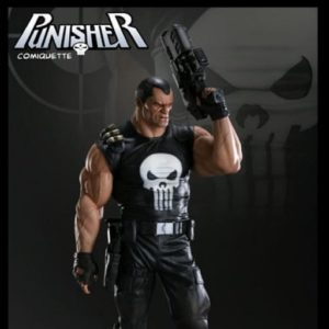 PUNISHER COMIQUETTE Statue Regular Version - SIDESHOW COLLECTIBLES