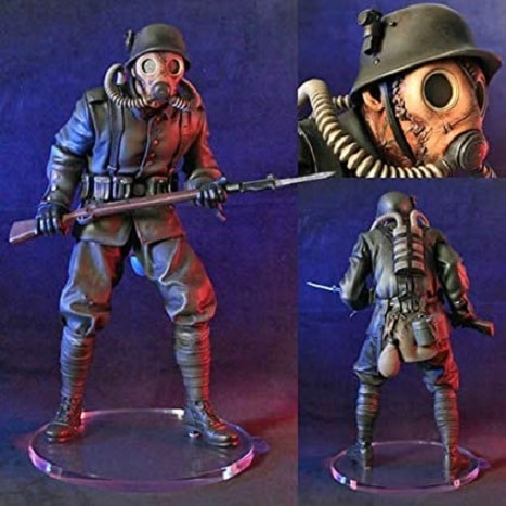 GERMAN SOLDIER Statue Sucker Punch - GENTLE GIANT