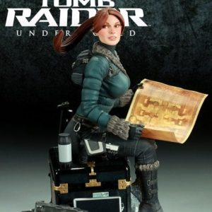 TOMB RAIDER STATUE Lara Croft SNOW DAY - SIDESHOW COLLECTIBLES