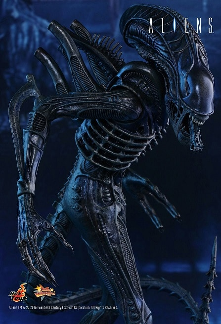 "Aliens Blue Battle Damaged Warrior NECA Series 12 7/"" Scale Action Figure"