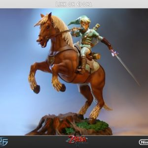LINK ON EPONA - ZELDA - F4F First For Figures
