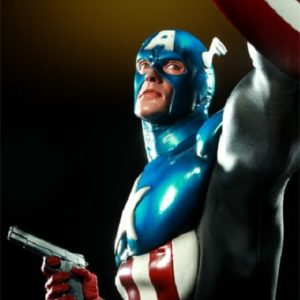Captain America James 'Bucky' Barnes Premium Format - SIDESHOW COLLECTIBLES