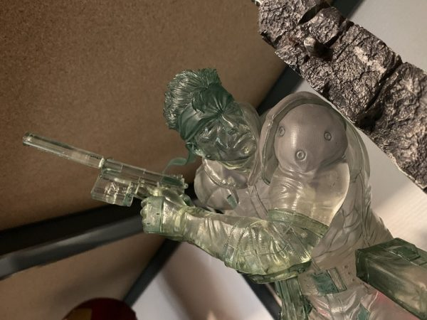 SOLID SNAKE STEALTH CAMOUFLAGE EDITION – MGS Metal Gear Solid – F4F First For Figures