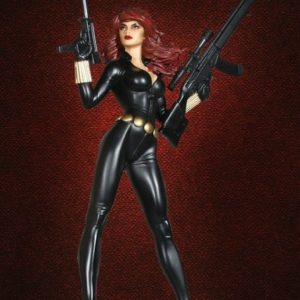 Black Widow Variant Polystone Statue - MARVEL - BOWEN DESIGNS
