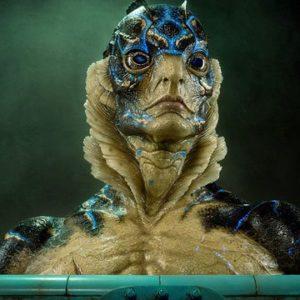 Amphibian Man Bust 1:1 Life size - La Forme de l'eau - ECC Elite Creature Collectibles