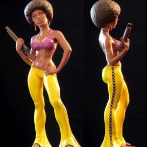 Pam Grier as Coffy Statue - Mark Alfrey Studio - SIDESHOW COLLECTIBLES