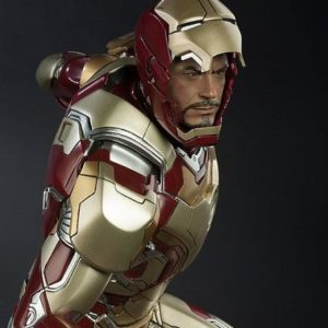 Iron Man Mark 42 Quarter Scale Maquette - SIDESHOW COLLECTIBLES