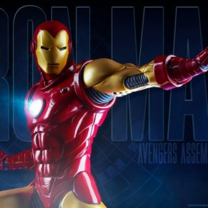 IRON MAN Statue Avengers Assemble Collector Version - SIDESHOW COLLECTIBLES