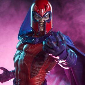 MAGNETO MAQUETTE Collector Version - X MEN - SIDESHOW COLLECTIBLES