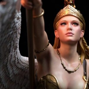 ATHENA 1/4 SCALE STATUE COLOR VERSION - Artist Series - Infinity Studio