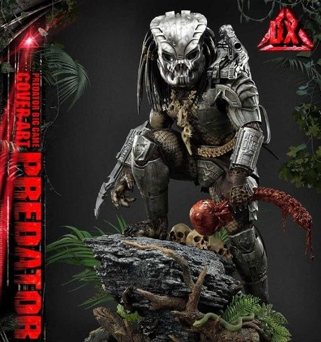 Big Game Cover Art Predator Deluxe Version - Prime 1 Studio