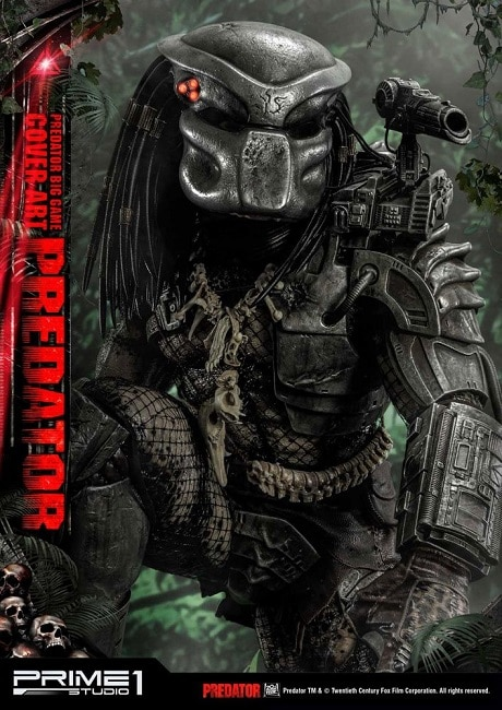 Big Game Cover Art Predator Deluxe Bonus Version - Prime 1 Studio