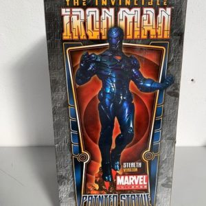 THE INVINCIBLE IRON MAN STEALTH VERSION STATUE - MARVEL - BOWEN DESIGNS