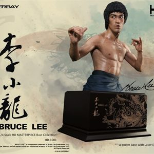 Bruce Lee 1/4 Scale HD Masterpiece Bust Collection - ENTERBAY