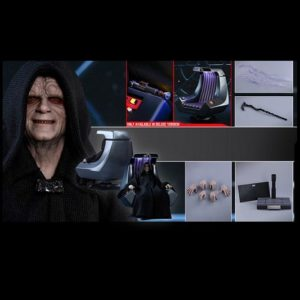 EMPEROR PALPATINE (DELUXE VERSION) MMS468 1/6 Scale figure - STAR WARS EPISODE VI - HOT TOYS
