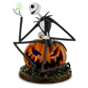 L'étrange Noël de Monsieur Jack : Halloween Jack on Pumpkin with Snowflake Light-Up - DISNEYLAND