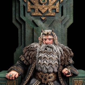 The Hobbit - An Unexpected Journey: King Thror on Throne - WETA WORKSHOP