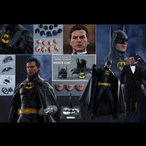 Batman Returns: Batman 1989 & Bruce Wayne 1/6th scale Collectible Figures Set - HOT TOYS