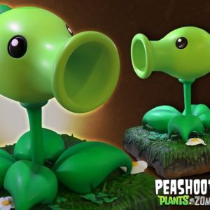 Plants vs Zombies: Peashooter Regular - GAMING HEADS