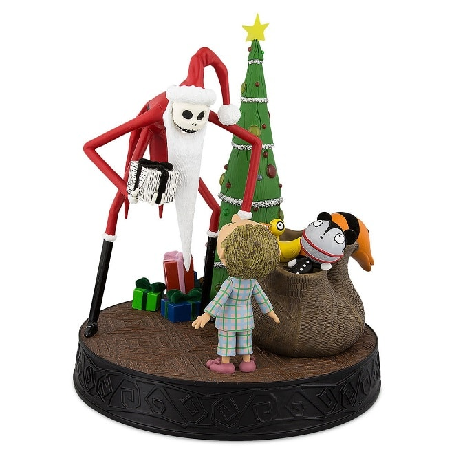 Jack Skellington As Santa Claus The Nightmare Before Christmas Ornament in Box