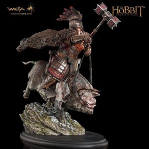 The Hobbit - The Battle of Five Armies: Dain on Boar 1/6th scale statue - WETA WORKSHOP